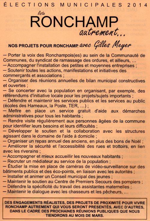 Nos projets, notre liste - RONCHAMP AUTREMENT (page1)